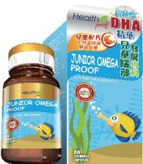兒童魚油精華 Junior Omega Proof